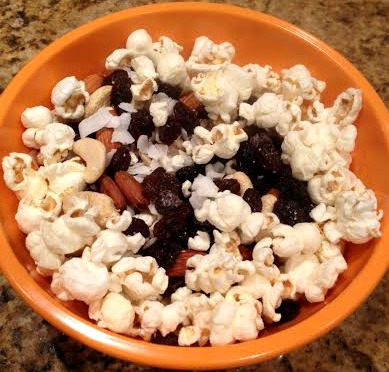 Popcorn Trail Mix - Vanessa Chamberlin