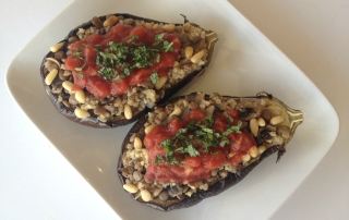 Baked Eggplant Italiano by .