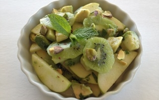 Jolly Green Fruit Salad by .