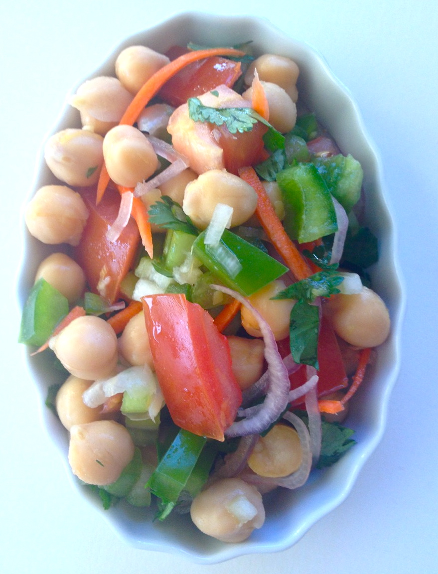 refreshing chickpea salad by .