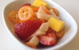 kumquat fruit salad by .