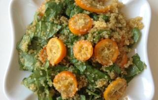 double citrus quinoa salad by .