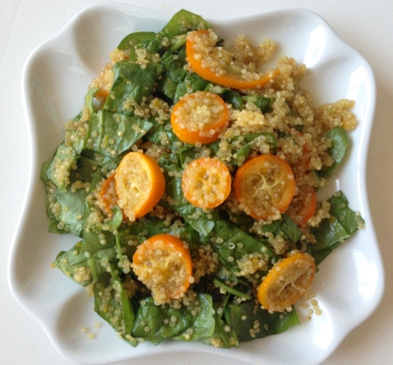 double citrus quinoa salad by .