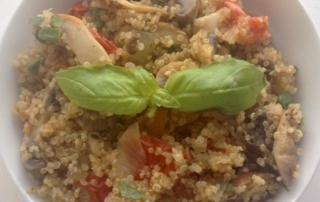 italian flavor quinoa by .