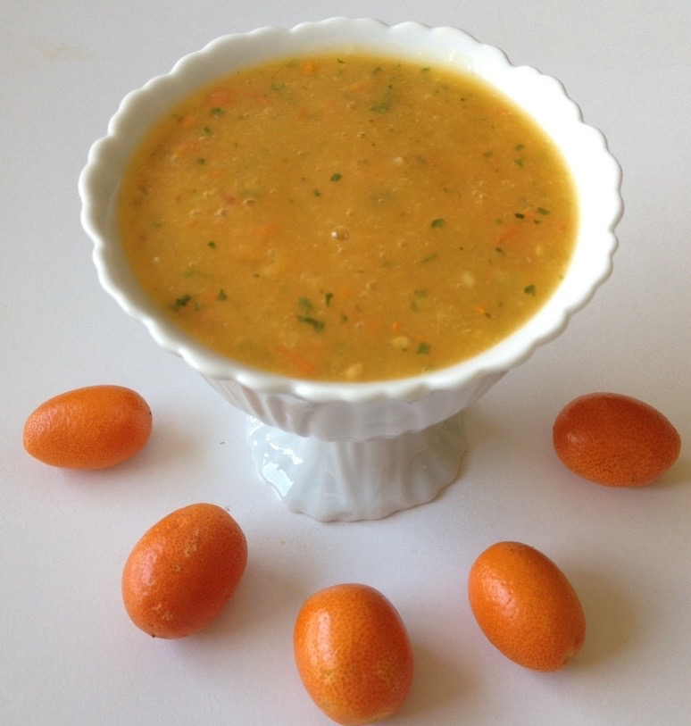 mango kumquat dressing by .