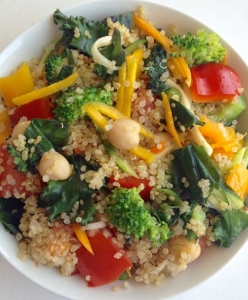 quinoa buddha bowl by .