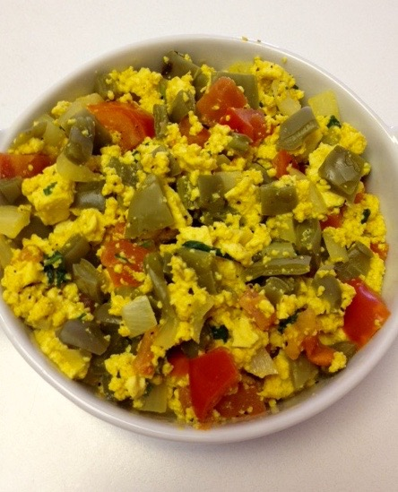 scramble tofu cactus by .