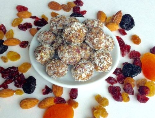 Meatless Monday – Raw Orange Energy Bites